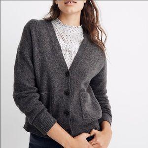 Madewell Kent Ex Boyfriend Cardigan Sweater
